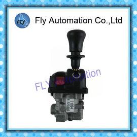 Κίνα Το Hyva 3 PTO αργιλίου ελέγχων φορτηγών απορρίψεων θέσης ανάλογες βαλβίδες ελέγχου αντλιών μετακινεί positioner στο μέταλλο με μοχλό προμηθευτής
