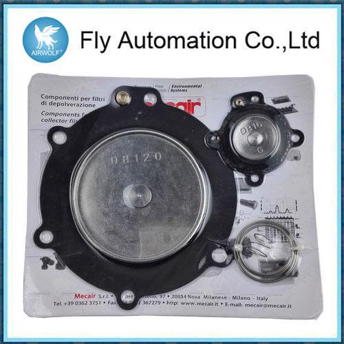 """Mecair DB120 3"""" Diaphragm Repair Kits PENTAIR MECAIR Pulse Jet Valves VNP220 VEM220"""