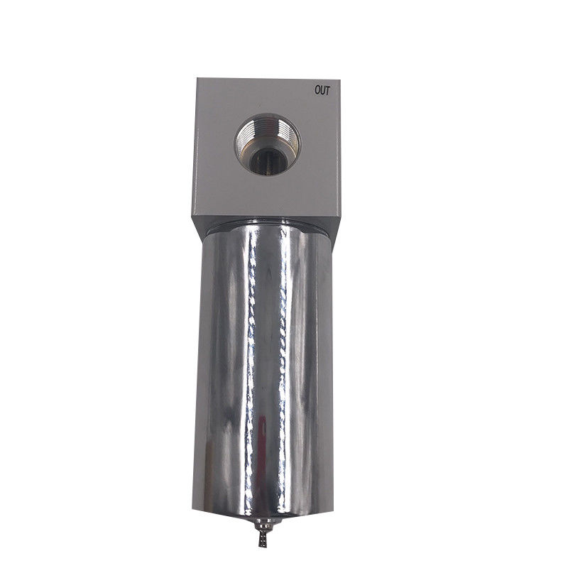 Aluminium Alloy Pneumatic Manual Valve High Pressure Air Filter QSLH-25 G1 Port Size